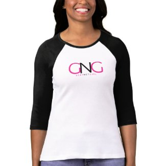 3/4 sleeve GET NET GIRL t shirt