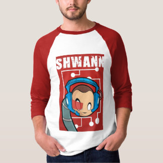 3/4-Sleeve SHWANN Jersey T Shirt