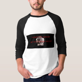 3/4 Sleeve T-shirt Therapeutic Homicide Logo