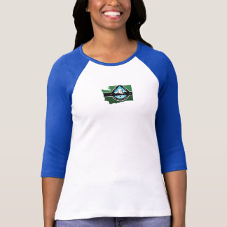 3/4 tee-shirt state logo T-Shirt