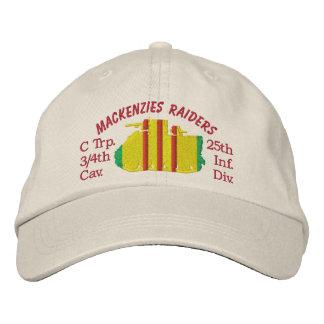 3/4o Caballería, 25to Inf.Div. Gorra bordado M113 Gorras De Béisbol Bordadas