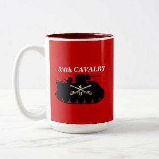 3/4th Cavalry M113 ACAV Track Mug mug