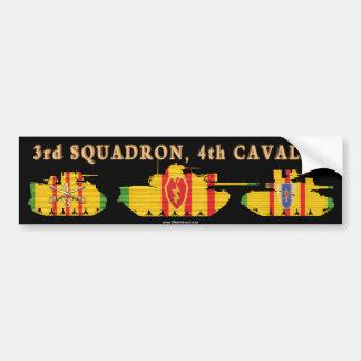 3/4th Cavalry VSR Armored Vehicles Car Bumper Sticker