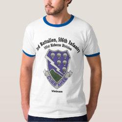 3-506th Tee Shirt - Vietnam