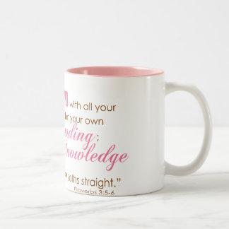 3:5 de los proverbios - 6 taza