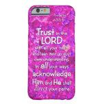3:5 de los proverbios - confianza 6 en el señor funda de iPhone 6 slim