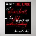3:5 de los proverbios posters