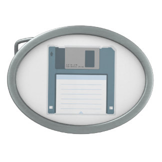 3.5 Floppy Disk Belt Buckle (front of disk)