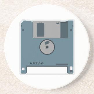 3.5 Floppy Disk Coaster (back of disk)