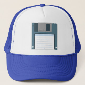 3.5 Floppy Disk Hat (front of disk)
