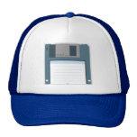 3.5 Floppy Disk Hat (front of disk)