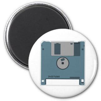 3.5 Floppy Disk Magnet (back of disk)