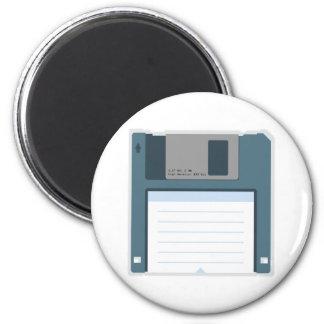 3.5 Floppy Disk Magnet (front of disk)