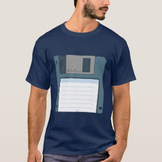 3.5 Floppy Disk Shirt (two-sided)