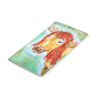 "3.5"" x 5.5"", Glamour Cow Journal"