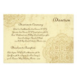 3.5 x 5 Direction Card Moroccan Party