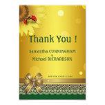 "+3.5"" x 5"" Spring Summer Lady Bugs Thank You Card Custom Invitation"