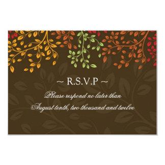 """3,5 x 5 - tarjetas de contestación del boda de la invitación 3.5"""" x 5"""""""