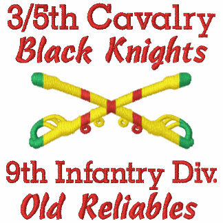 3/5th Cavalry 9th Inf. Div. Crossed Sabers Shirt Polo