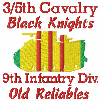 3/5th Cavalry 9th Inf. Div. M113 Embroidered Shirt