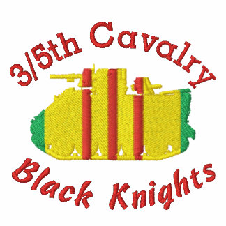 3/5th Cavalry Black Knights M113 Embroidered Shirt