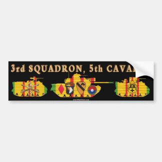 3/5th Cavalry VSR Tracks & Tank Bumper Sticker