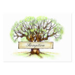3.5x2.5 Reception Cards - Love Tree Business Cards