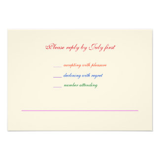 3 5x5 Gay Wedding Rainbow LGBT Pride RSVP Textured Personalized Invitations