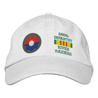 3/60th Inf. River Raiders Embroidered Hat