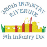 3/60th Inf. Riverine ATC Embroidered Shirt
