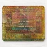 3:6 de los proverbios: Verso inspirado de la bibli Alfombrillas De Ratones