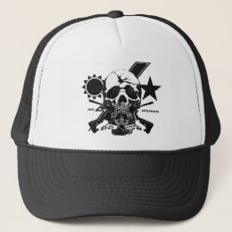 3/75 Ranger Skull design with tab and OIF/OEF Trucker Hat