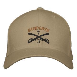 3-7th Cavalry Crossed Sabers OIF Ribbon Custom Hat