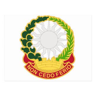 3 Air Defense Artillery Regiment Postcard