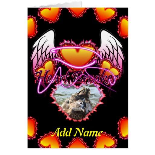 3 alas del ángel de los corazones y triturador de  tarjeton