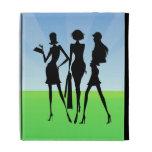 3 amigos de las mujeres que hacen compras