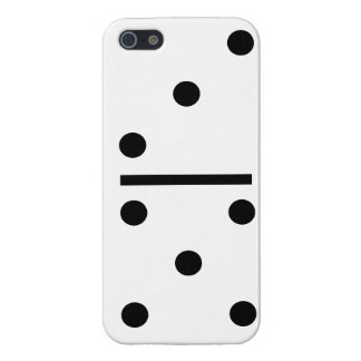 3 and 5 Dominos Design case Case Savvy iPhone 5