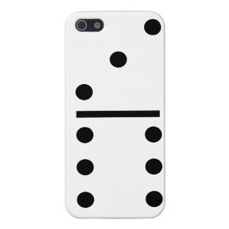 3 and 6 Dominos Design case Case Savvy iPhone 5