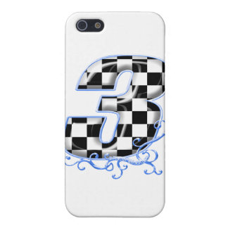 3 auto racing number iPhone SE/5/5s cover