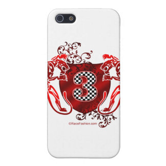 3 auto racing number tigers iPhone SE/5/5s cover
