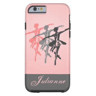 3 bailarinas funda de iPhone 6 tough