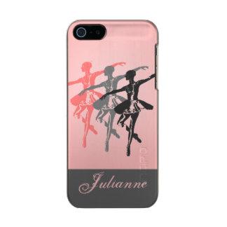 3 bailarinas carcasa de iphone 5 incipio feather shine