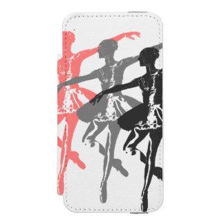 3 bailarinas funda cartera para iPhone 5 watson