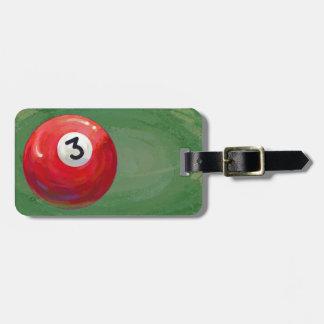 3 Ball Luggage Tag