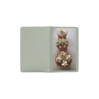 3 banana cupcakes-grey pocket moleskine notebook