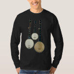 3 Banjos Men's dark long sleeve T-Shirt