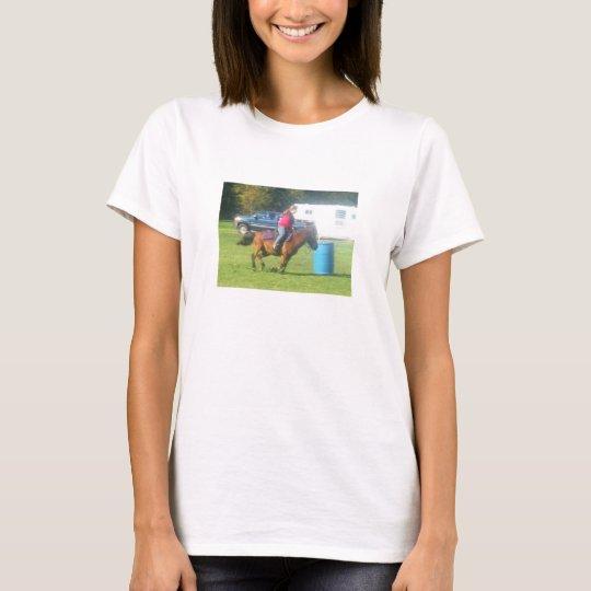 3 barrels 2 hearts 1 dream!  Horse shirt