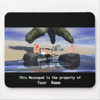 3 Beauties and the Beast Mousepad Mouse Pad