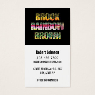 3 Beautiful Trout Skins Business Card