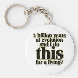 3 Billion Years Keychain